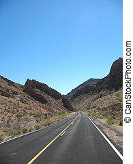 Road in Nevada