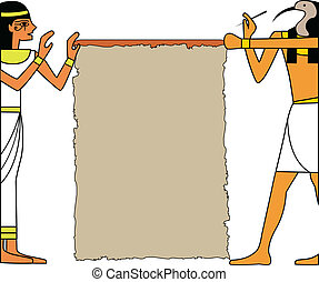 the vector set of egyptian god