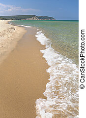 Pristine beach - The pristine beach Irakli on the bulgarian...