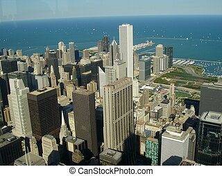 Chicago City Aerial View - An image of Chicago City aerial...
