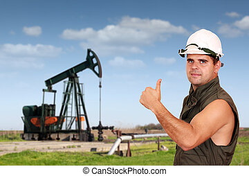 oil worker success