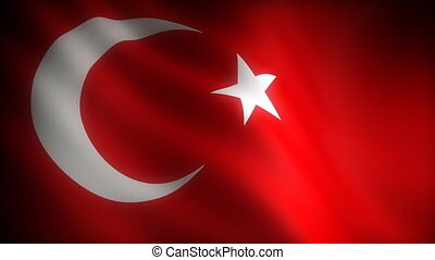 Flag of Turkey seamless