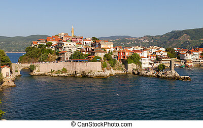 Traditional houses from Amasra, Bartn