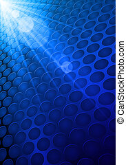 Shiny Blue Background - Abstract Shiny Blue Background....