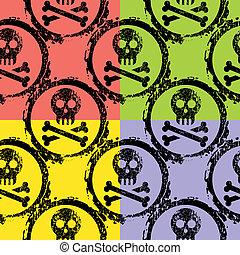 wallpaper of skulls