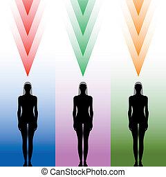 female body silhouette