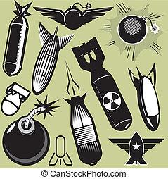 bomba, Colección