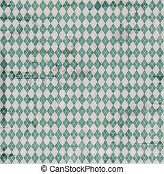 Vintage argyle pattern - Vintage background with an argyle...
