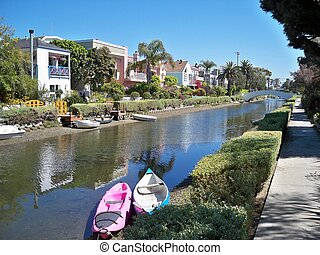 Venice Beach Canals - An image of a Venice Beach Canals