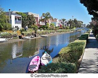 Venecia, playa, canales