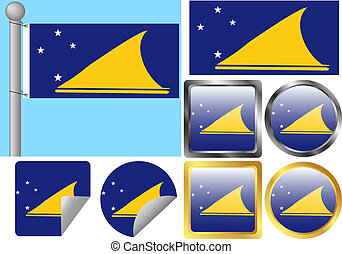 Flag Set Tokelau