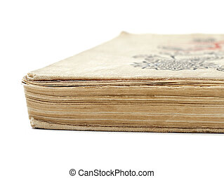 old book in a cloth cover