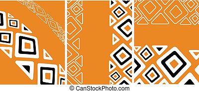 the ethnic vector retro background