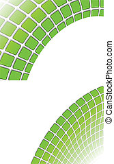 the green vector abstract background