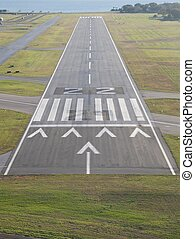 runway with displaced threshold
