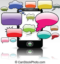 The mobile communication