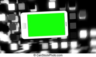 Animated smart phones