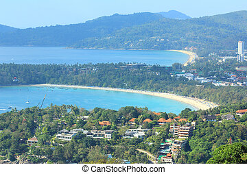 Phuket view point - Phuket View point to Patong beach, Kata...