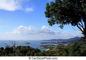 Phuket view point - Landscape at Phuket view point, South of...