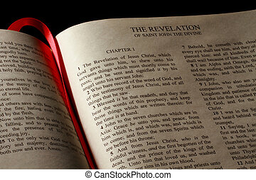 Book of Revelation - Chapter 1 of the Book of Revelation in...