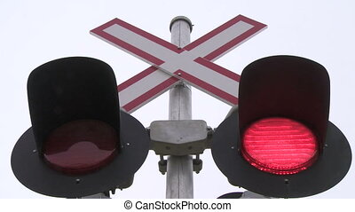Railway Crossing Lights