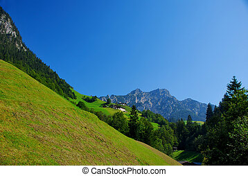 mountainside - steep mountainside to hike the mountains in...