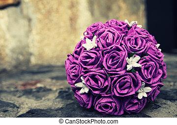 Happy wedding day - Wedding, Bride, Flower, Bouquet,...
