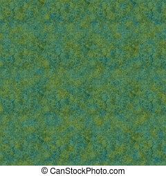 Seamless Green Mottled Background - Shades of green and teal...