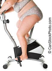 fat woman fitness