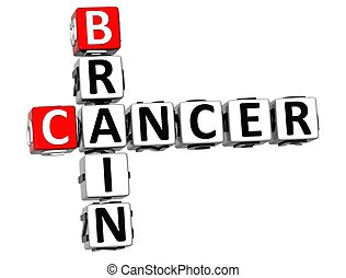 3D Cancer Brain Crossword