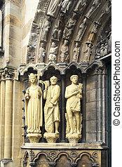 Liebfrauenkirche, Old City center, Trier, Rheinland-Pfalz,...