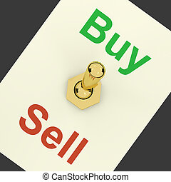 Buy Word Representing Business Trade And Purchasing - Buy...