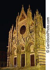 Duomo, ∥ディ∥,  Siena