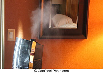 Bedroom Humidifier - An image of a humidifier