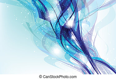 Colorful Abstract Fantasy Background.