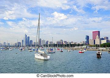 Chicago and Lake Michigan