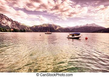 Lago di Garda lake, Italy