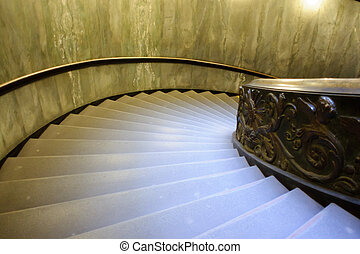 Spiral stairs of the Vatican