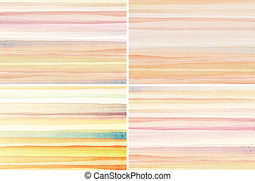 Watercolor backgrounds - Abstract watercolor art...