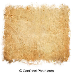 Vintage paper background isolated