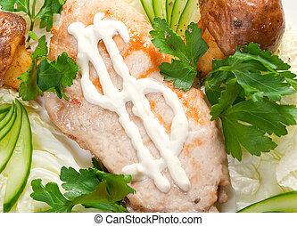 porks RoastItalian cuisine