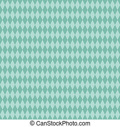 Seamless Aqua Diamond Background - Medium and light aqua...