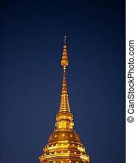 Golden roof