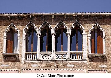 Venice, facade detail, Italy