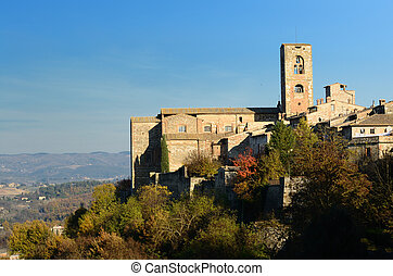 Colle Valdelsa - A beautiful medieval village in the hearth...