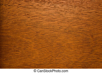close-up of fragment of wooden surface of brown color with...