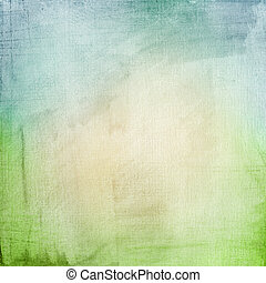 A paper background with a blue-gree