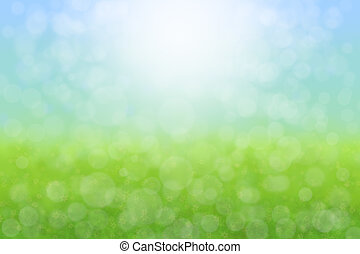 Pretty Spring Background Abstract