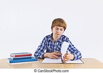 smart boy learning for school - smart boy learning for...