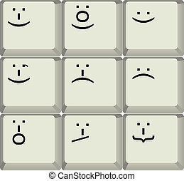 keyboard smilies